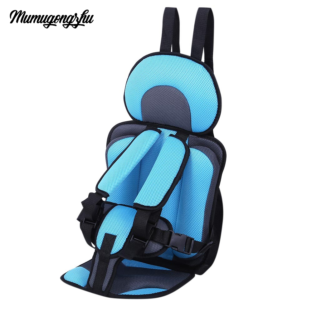 upholstery car seats covers kids safety rear seat thickening fabric cotton adjustable belt childrens chairs 4 season universal in automobiles seat covers
