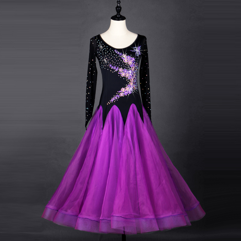 New Ballroom dance costumes spandex ballroom dance dress for women standard ballroom dance competition dresses dance dress