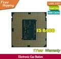Оригинальный Процессор Intel i5 6400 14nm Quad Core 2.7 ГГц LGA 1151 Кэш TDP 65 Вт 6 МБ Рабочего ПРОЦЕССОРА