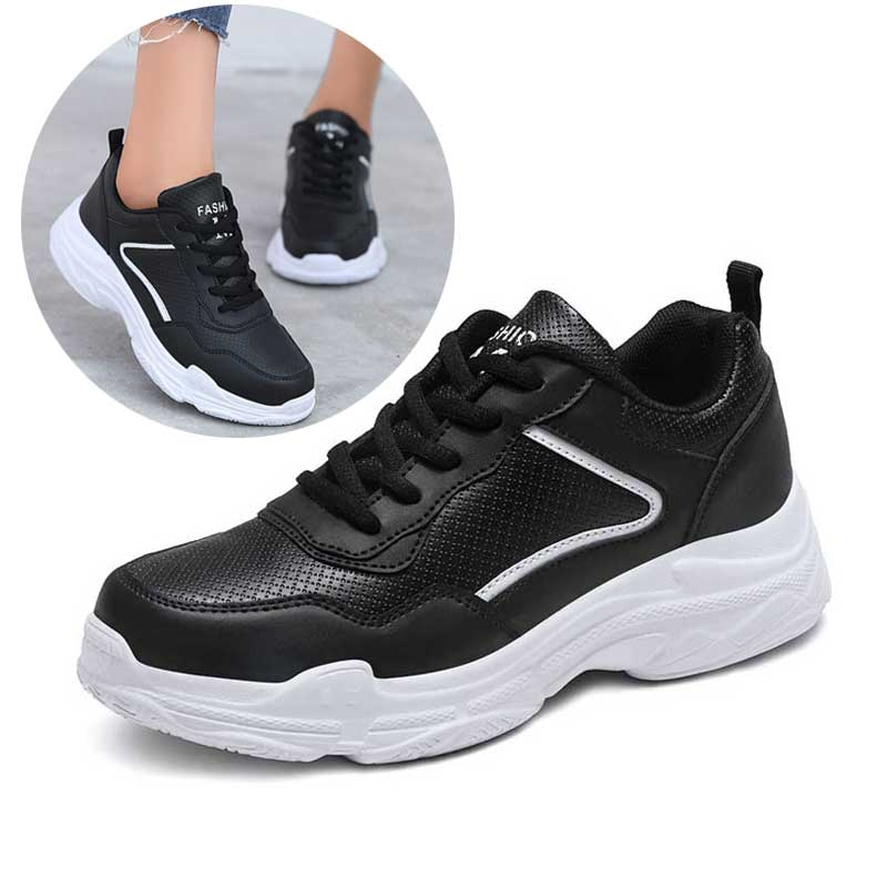 Women White Casual Shoes Female Fashion Breathable Running Sneakers Walking Shoe For Woman Sport Shoes Footwear Autumn 2018