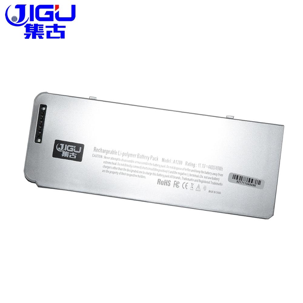JIGU Plastic shell A1280 Laptop Battery For Apple MacBook 13