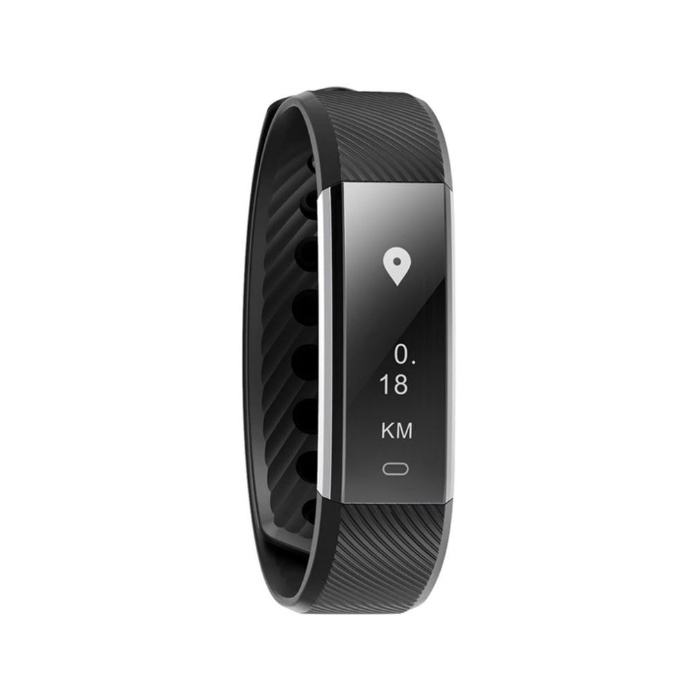 Bluetooth Smart-pedometer Schritt Zähler Sport Schlaf Überwachung Wecker Anruf Benachrichtigung Wasserdichte Fitness Tracker Ein Unverzichtbares SouveräNes Heilmittel FüR Zuhause Fitnessgeräte