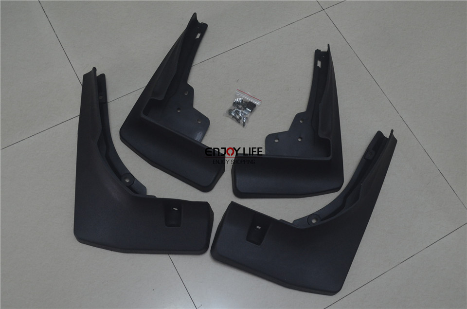 4pcs Mudguard Mud Flaps Splash Guard Fender Flap For Mercedes GLE Class Coupe C292 2015 new