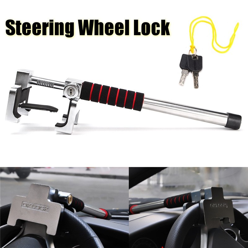 Universal Car Rotary Steering Wheel Lock Anti Theft Security