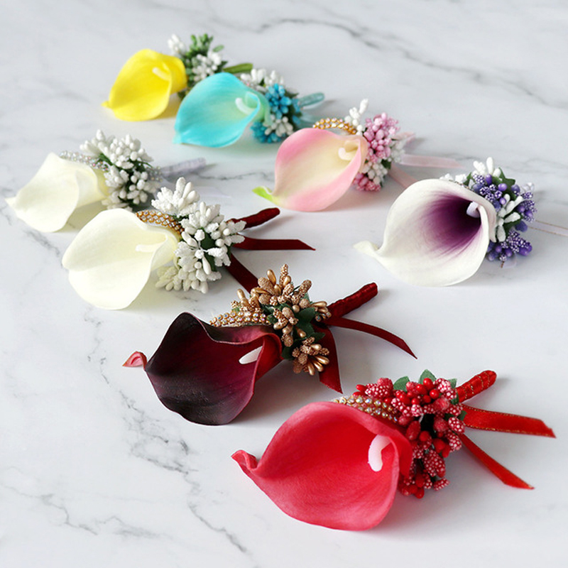 19e1085e6f Fastest shipping wedding flowers boutonniere in Hairs Style 2019