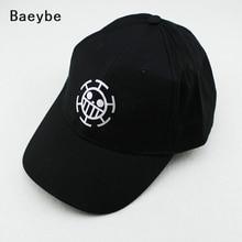 Anime one piece embroidered baseball cap snapback men women adjustable hip hop cap sun hat