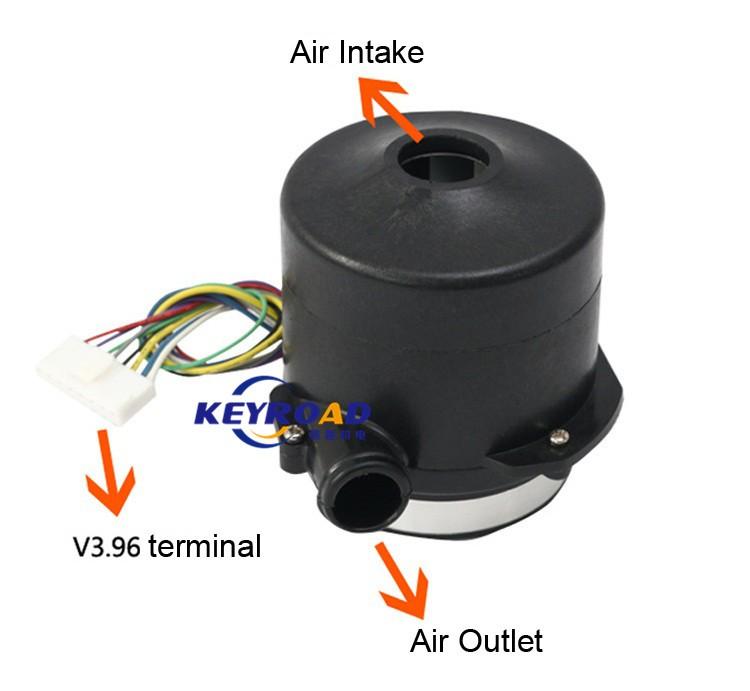 Купить 24 В 10kPa Мощный Вентилятор Высокого давления и Высокая Скорость BLDC Центробежные Электрический Большой Расход Воздуха Вентилятора для Сеялки дешево