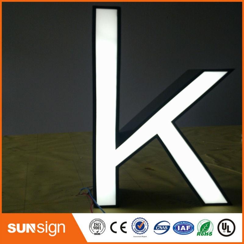 Aliexpress Sign Manufacturer Wholesale LED Channel Letter Sign