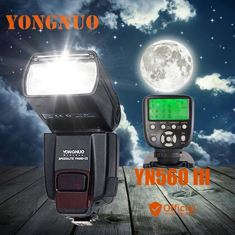 Yongnuo YN560 III 2.4G Wireless Manual Flash Speedlite+Transmitter Controller For Canon EOS 1Ds 5D 1D Mark II N 50D 60D 77D 7D aputure combo ir wired remote shutter control for canon eos 7d 5d mark ii 1 x cr2032