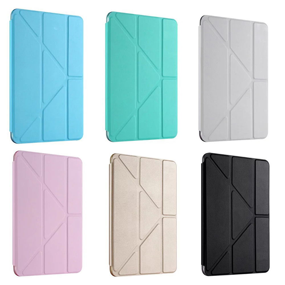 New Case For IPad Mini 4 3 2 1 Case PU Leather Silicone Soft Stand Auto Sleep/Wake Up Smart Cover For IPad Mini 2 Case Colorful