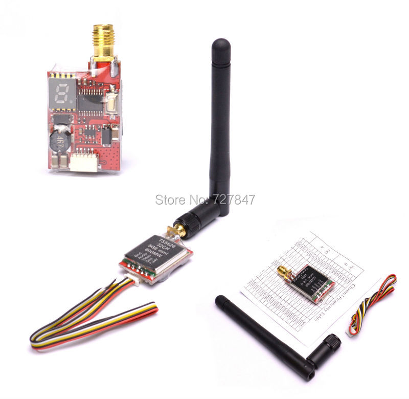 ReadytoSky TS5828 / TS5828L Micro 5.8G 600mW 48CH Mini FPV Transmitter with Digital Display