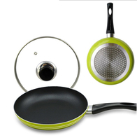 Aluminum Alloy Copper Frying Pan With American Huafu Coating And Induction Cooking Oven Dishwasher Safe