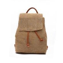 Лидер продаж унисекс растительного дубления нейлон Рюкзаки старинные Дизайн женская сумка ткачество рюкзак мужской женская мода путешествия рюкзак
