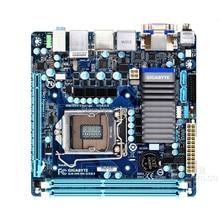 Оригинальная настольная Материнская плата Gigabyte GA-H61N-USB3 H61N-USB3 H61 LGA 1155 i3 i5 i7 DDR3 Micro-ATX полностью протестирована