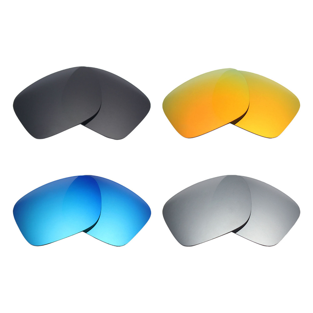 c09413ec39d 4 Pairs Mryok Anti Scratch POLARIZED Replacement Lenses for Oakley Holbrook  Sunglasses Black   Blue   Red  Silver-in Accessories from Apparel  Accessories on ...