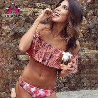 Topmelon Bikini 2017 Swimwear Female Maillot Brazilian Bikini Push Up Sexy Beachwear Bathing Suit Triangle Swimwear