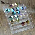 Fashion Detachable 7 Tier Organizer Lipstick/Sunglasses Display Stand Holder Nail Polish Rack Makeup Cosmetic Free Shipping