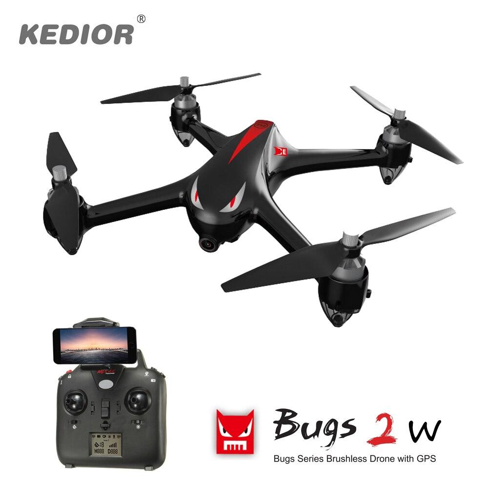 MJX Bugs 3 RC Quadcopter Drone sin escobillas de control remoto - Juguetes con control remoto