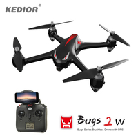 Professional Quadrocopter with Camera WiFi 1080P Brushless Drone RC Dron with GPS 1km Remote Control Quadcopter Auto Take off