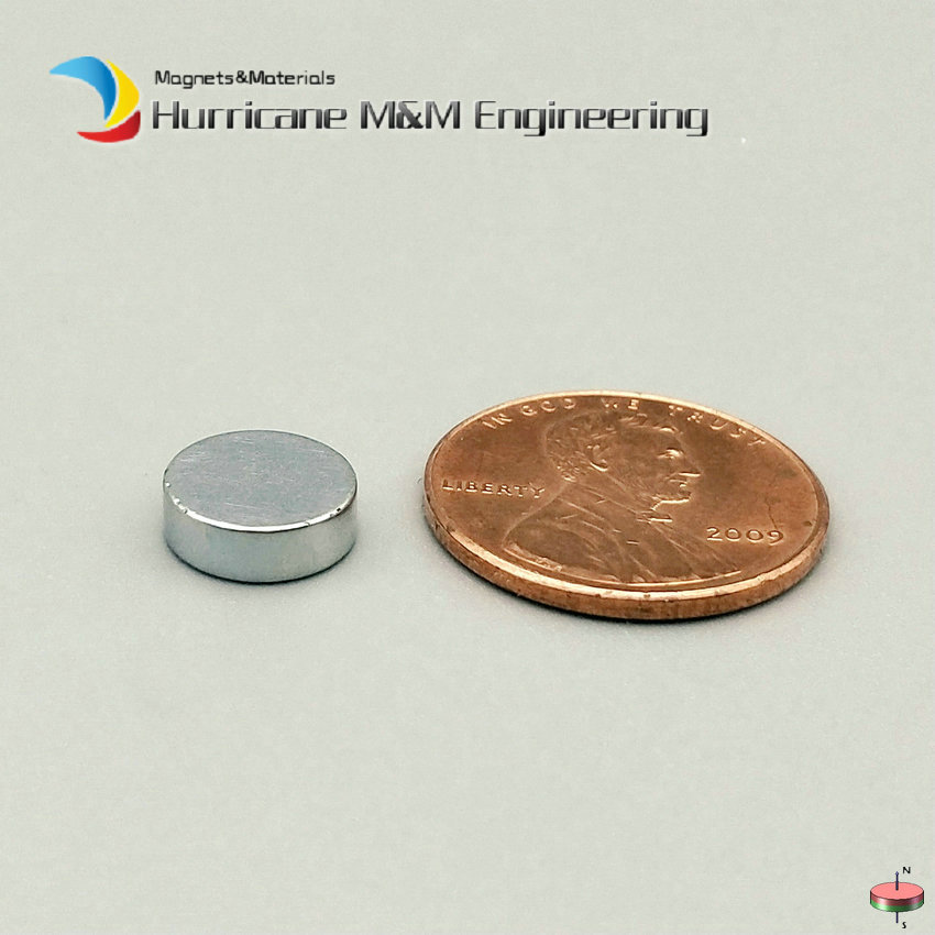 NdFeB Round Magnet Dia. 9x3 mm Zinc and NiCuNi Plated Disc Neodymium Permanent Magnets Axially Magnetized 1 pack dia 4x3 mm jewery magnet ndfeb disc magnet neodymium permanent magnets grade n35 nicuni plated axially magnetized