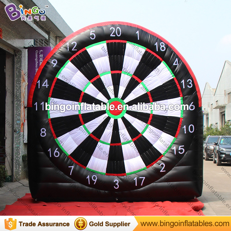 Free Delivery 4M / 13ft Inflatable Dart Board Game Inflatable Soccer/Football Dart Board Foot Dart Game for Sport event toys free delivery car engine computer board ecu 0261208075