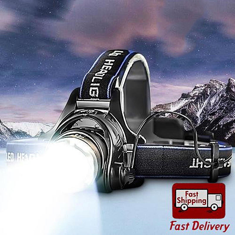 Mini Led Headlamps 3 Mode Energy Saving Outdoor Sports Camping Fishing Head Lamp Flashlights