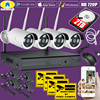 Golden Security 4CH Wireless 1080P NVR Kit 720P HD Waterproof Security WiFi IP Camera System Surveillance