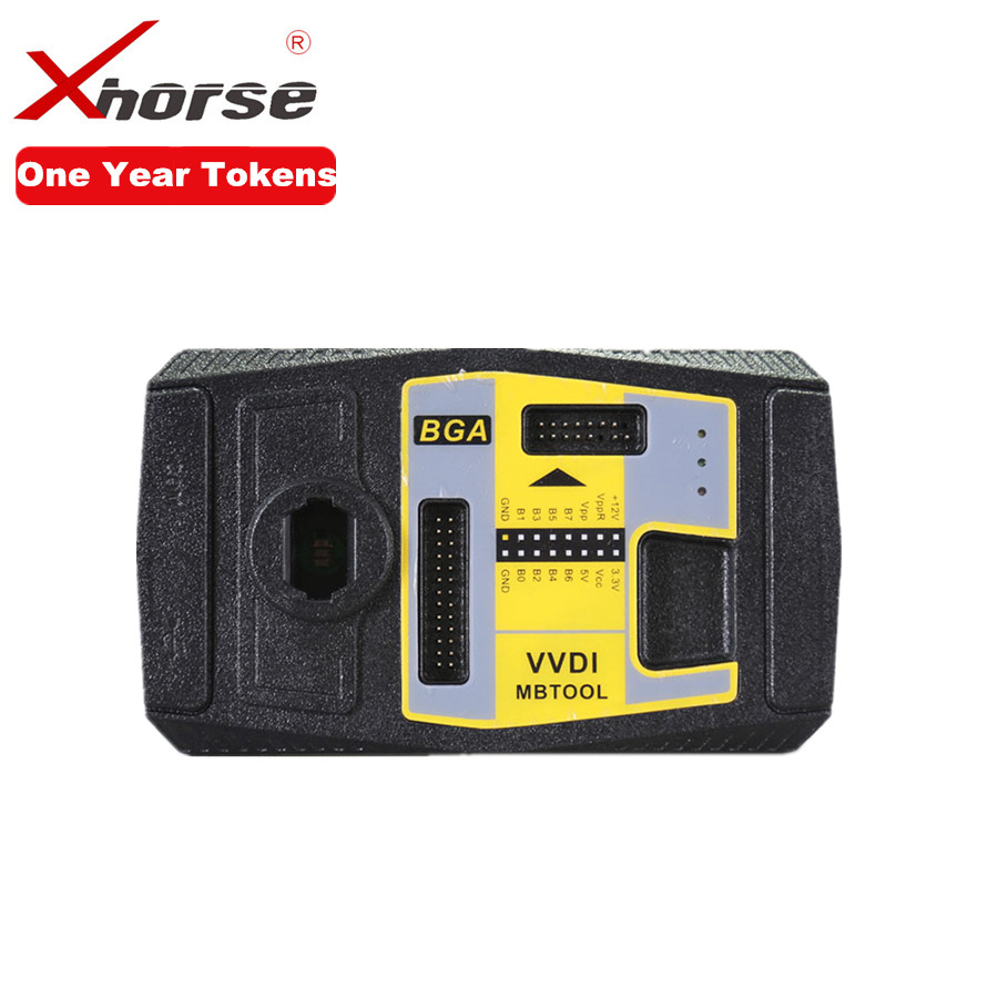 Unlimited Tokens For Xhorse VVDI MB BGA TOOL For BENZ Password Calculation Unlimited Token For One Year Period