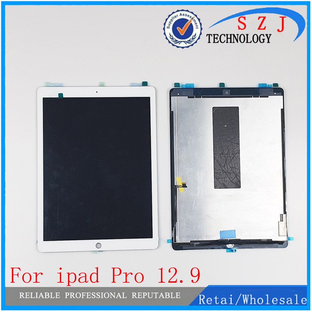 цена на New Tablet For iPad Pro 12.9 inch LCD Assembly Screen Display Touch Panel A1652 A1584 Black White ML0F2LL EMC2827 Free Shipping
