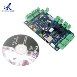 20,000 Gli Utenti TCP IP Controller Porta Seriale Compatibile con Tutte Le Carte Lettore di Scheda di Controllo di Accesso della Carta di Parcheggio Sistema di Controllo