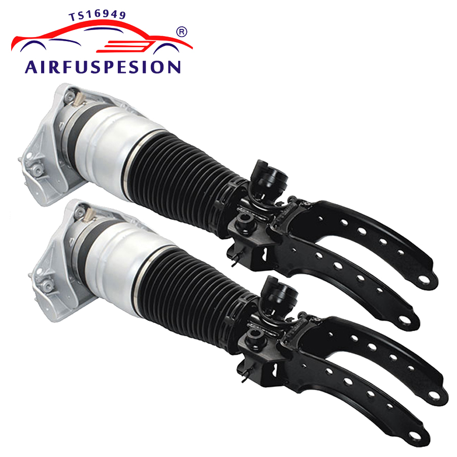 pair Air suspension strut front for AUDI Q7 for VW TOUAREG for PORSCHE CAYENNE air spring