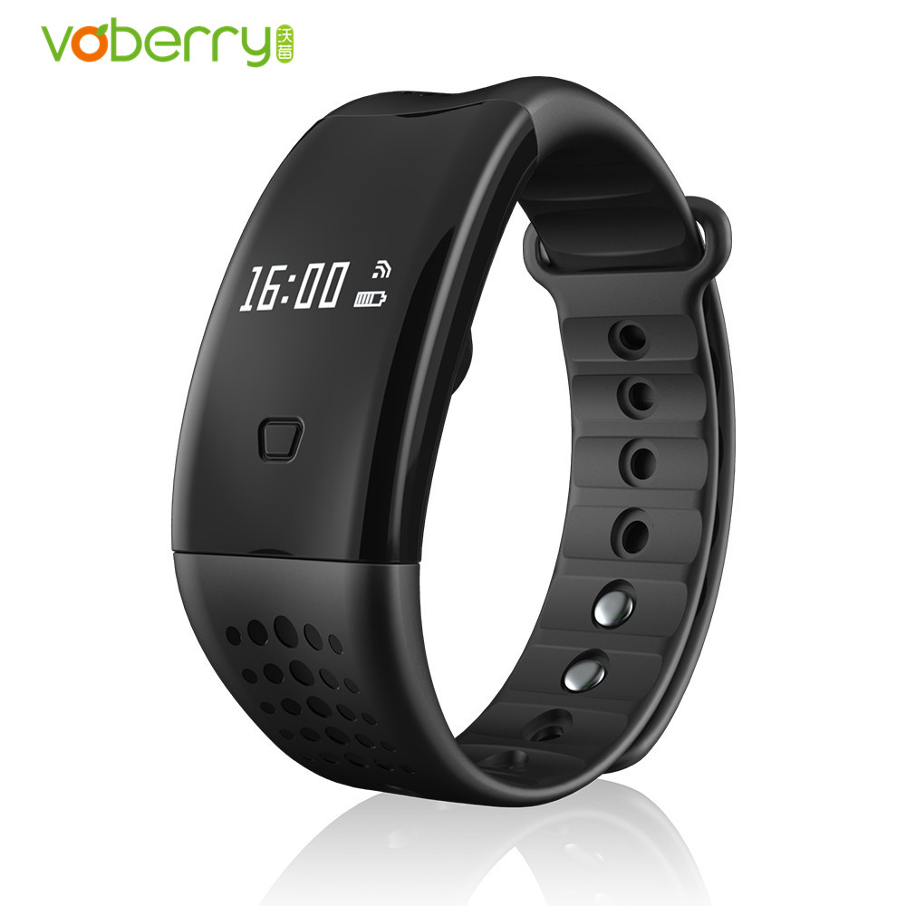 VOBERRY W2 Plus Smart Band Heart Rate Monitor Wristband