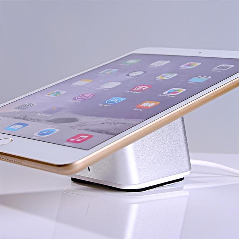 все цены на 10xTablet security stand Ipad display holder andriod anti theft alarm apple mount charging rack devices for retail shop онлайн