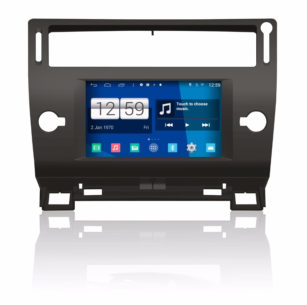 S160 Android 4.4.4 dvd-плеер автомобиля для Citroen <font><b>C4</b></font> аудио стерео Мультимедиа GPS головное устройство