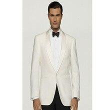 mens white wedding suit for groom tuxedo slim fit dress custom made suit fashion 2017 men wear