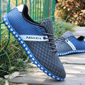New 2016 Cool Summer Breathable Casual Shoes Fashion Air Mesh Lace Up Flat Shoes Chaussure Homme Slip Men Shoes Zapatos Hombre