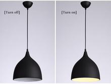 Simple modern dining room chandelier three-headed lampNordic single head horn creative simple bar