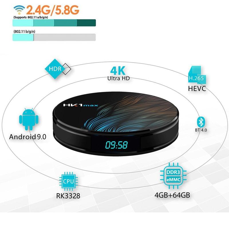 Smart tv box android 9.0 4gb ram 32gb/64gb rk3328 box tv 4k Streamer Box 2.4/5.8 WIFI Bluetooth 4.0 DDR4 airplay set-top boxSmart tv box android 9.0 4gb ram 32gb/64gb rk3328 box tv 4k Streamer Box 2.4/5.8 WIFI Bluetooth 4.0 DDR4 airplay set-top box