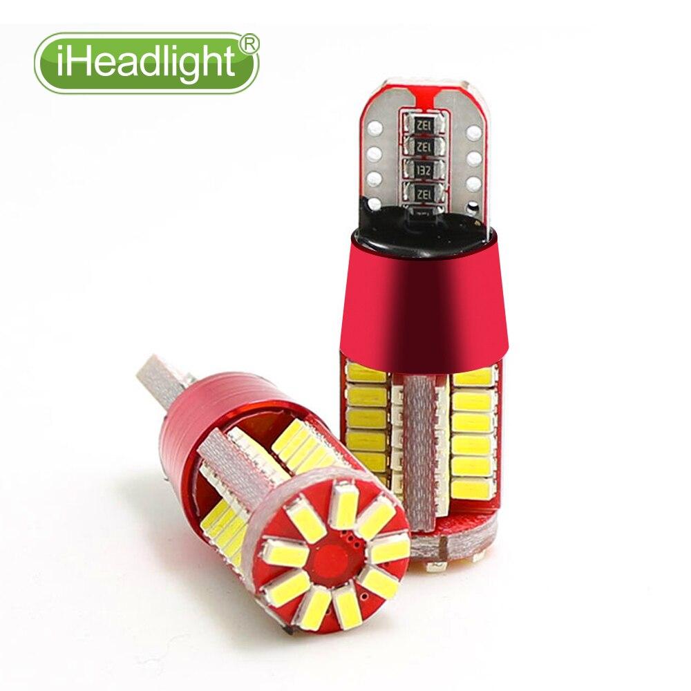 4x T10 W5W 194 3030 LED ampul 12V Dönmə Yan Lisenziya Plitəsi - Avtomobil işıqları - Fotoqrafiya 3