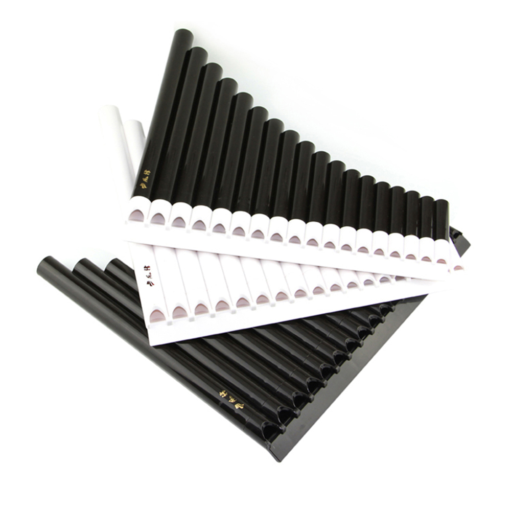 18 Pipes Pan Flute Eco-friendly Resin C Key 16 Tube Panflute Easy Learning For Children Music Instrument Gift