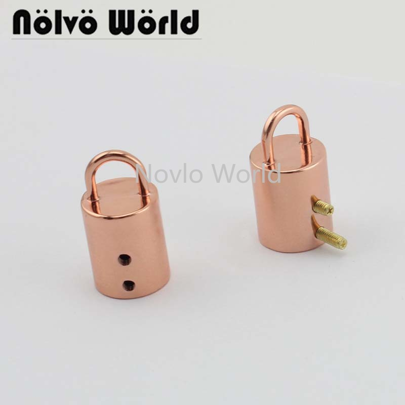 Wholesale 500pcs,33*13.6mm Rose Gold Metal Hanger Connects Bag Handle Connectors Diy Hardware Accessories