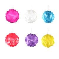 DIY Modern Ball Novelty IQ PVC Pendant Lamp Colorful Drop Light Power Cord And E27 Holder