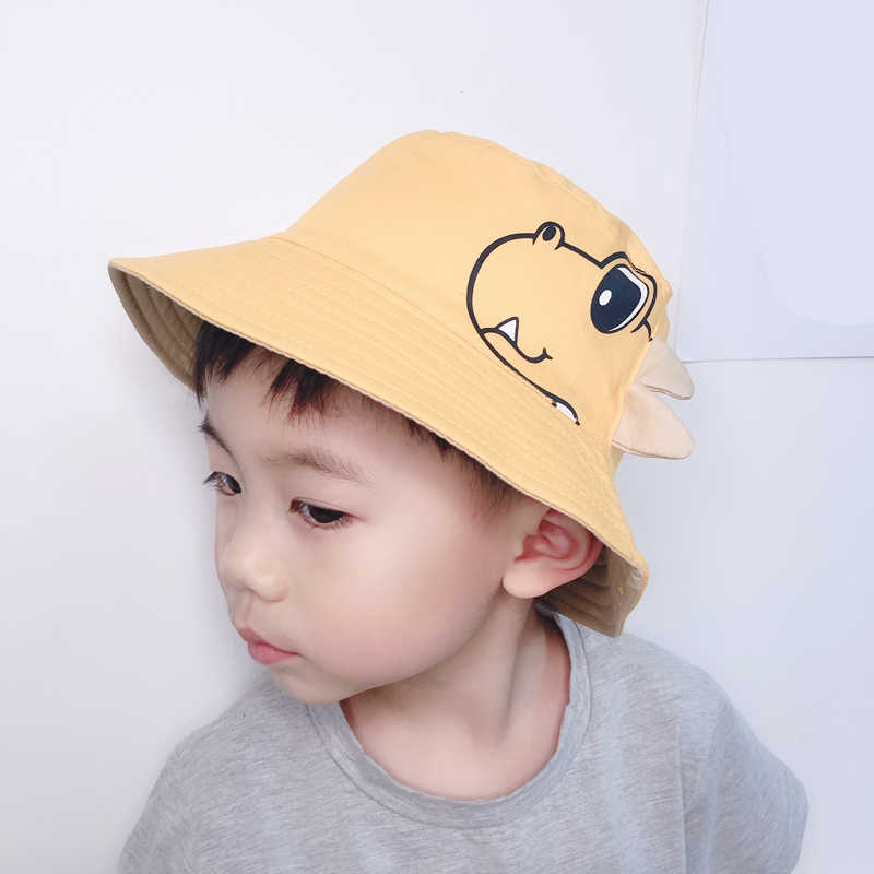 94adb2346 Child Baby Hat 2019 Spring Bucket Hat Outdoor For Kids Beach Hat ...
