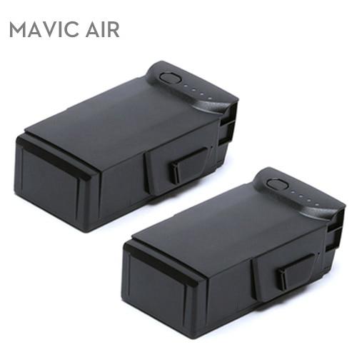 2Pcs Original DJI Mavic Air Battery Intelligent Flight Batteries Max 21-min Flight time 2375mAh 11.55 V for Dji Mavic Air Drone flight ft10 16