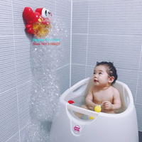 YANZCHILD Automatic Crab Bubble Machine Toy for Kids Durable Bubble Blower More Than 500 Bubbles Per Minute for Party and Gift