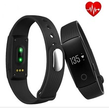 Unique ID107 Sensible Wristband Sensible Bracelet coronary heart fee Health Sensible band clock for IOS android PK Xiaomi mi band 2 PK fitbit