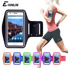 Running Jogging Gym Sport holder Bag Pouch Cover Arm Band Phone Case For Lenovo Vibe C B A K4 K5 Note P2 ZUK Z1 Z2 Plus Pro Edge(China)