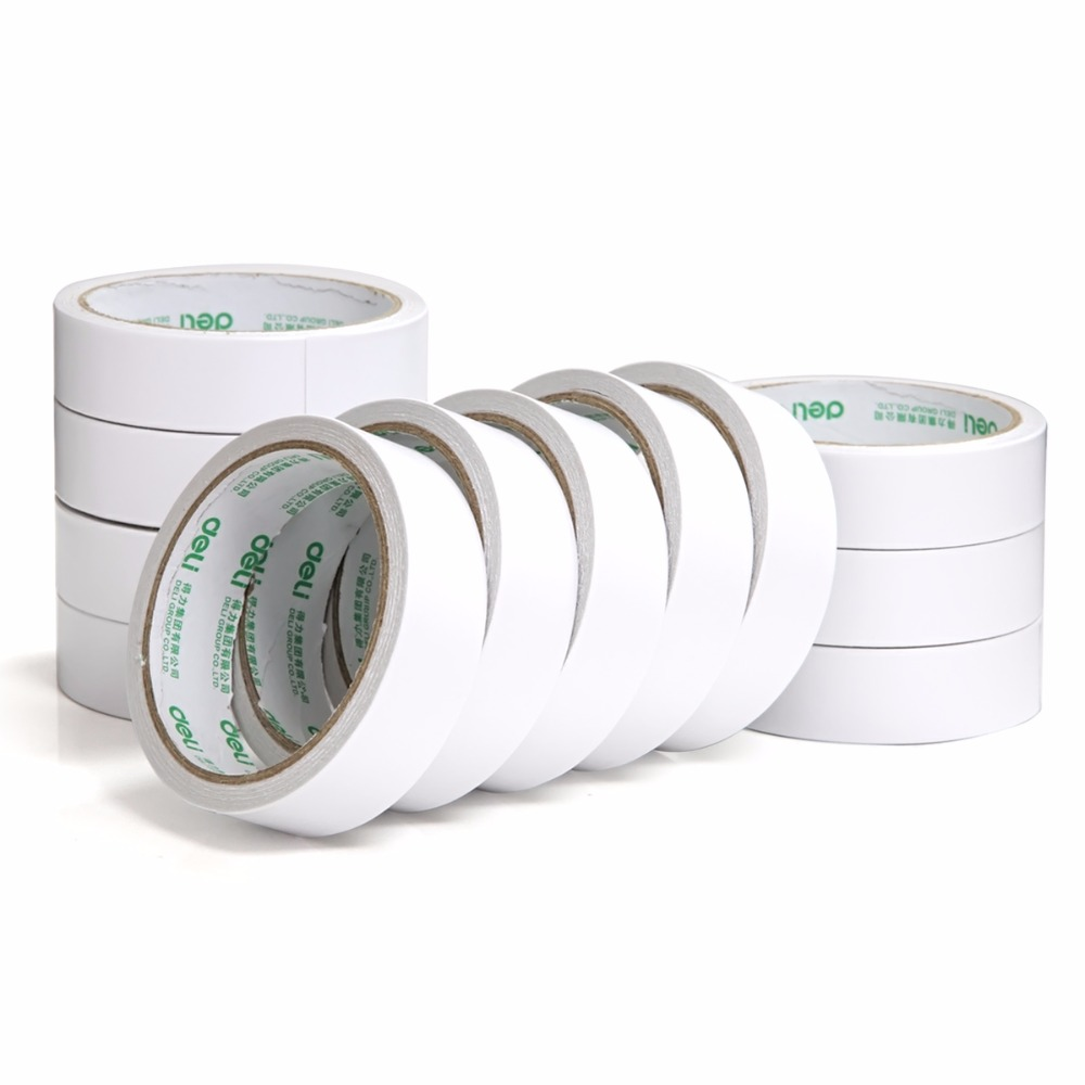 Deli 12 Volume Double Sided Adhesive Tape Strong Permanent
