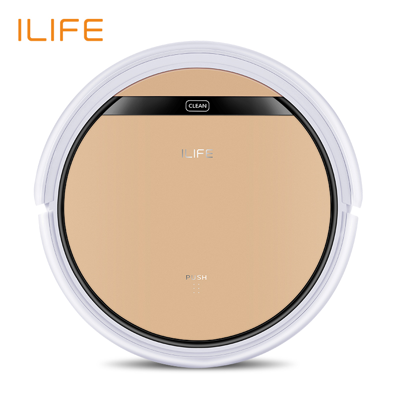ILIFE V5s Pro intelligent Robot Vacuum Cleaner Dry and Wet Mopping for pet hair