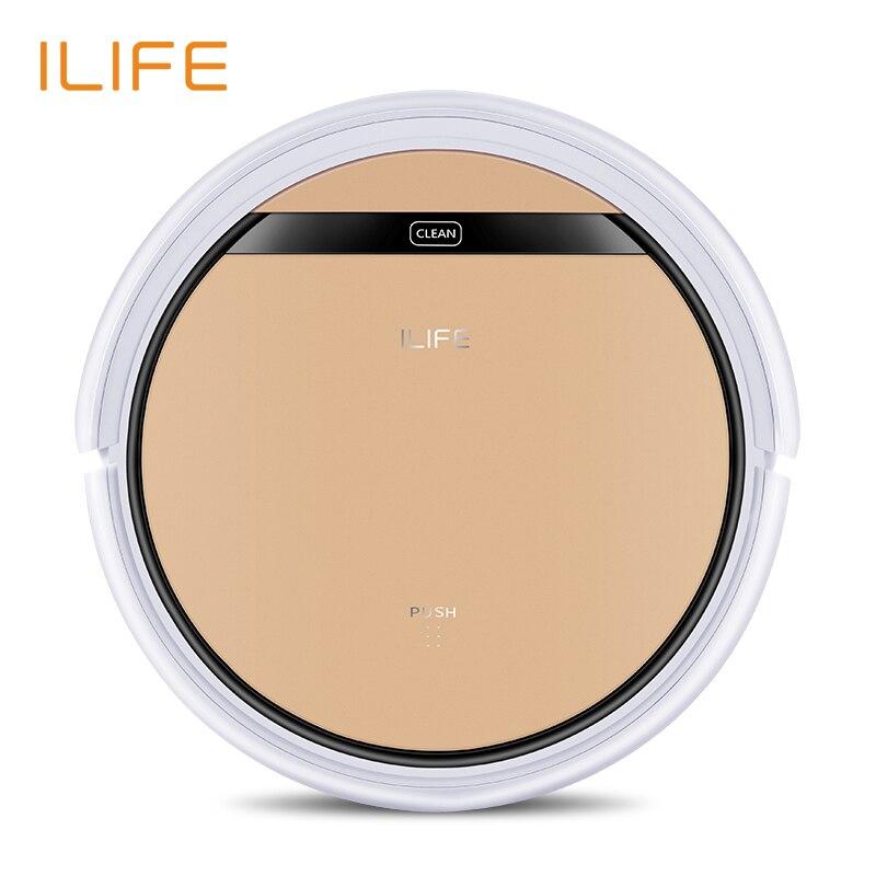 ILIFE V5s Pro робот пылесос, обновленная влажная уборка, мытья полов, новый помощник дома, время работы больше,сухая + мокрая уборки